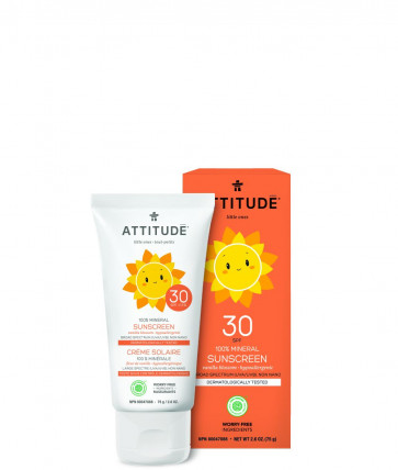 ATTITUDE | Little Ones | Zonnebrandcrème | SPF 30 | 75ml | Vanille