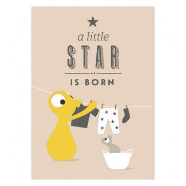 Ansichtkaart | A little star is born