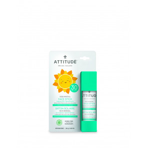 ATTITUDE | Little Ones | Stick Gezicht & Lip | SPF 30 | 19ml | Geurvrij