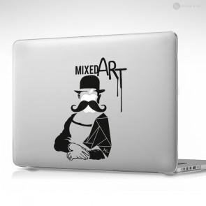 Mixed Art Apple MacBook