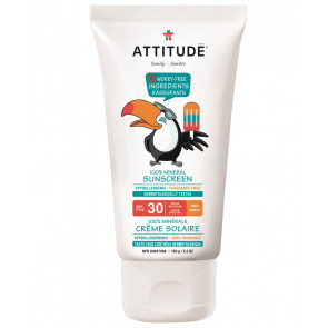 ATTITUDE | Little Ones | Zonnebrandcrème | SPF 30 | 150ml | Geurvrij