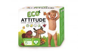 ATTITUDE | Little Ones | Eco-luier | Maat 5 | 22 stuks